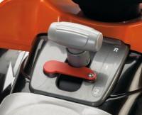 Детский квадроцикл Peg-Perego T-REX (чёрно-оранжевый)