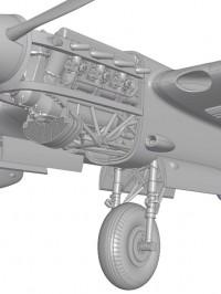 Сборная модель Звезда пикирующий бомбардировщик «Пе-2» 1:48