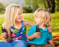 Рации детские Click Справжні рації 2шт. на 1км, желтый+голубой (CLK-Y033T-BY)