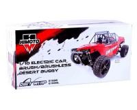 Багги Himoto Dirt Whip 1:10 E10DB Brushed (красный)