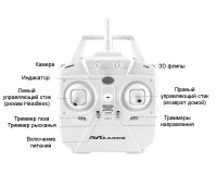 Квадрокоптер RC Leading 123GWH с Wi-Fi камерой и оптической стабилизацией