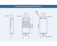 Регулятор хода T-Motor ALPHA 60A LV 6S для мультикоптеров