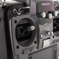 Пульт управления Radiolink AT10 II с приемником R12DS для авиамоделей, 12 к (серый)