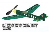 Самолет на резиномоторе Paul Gunter «Messerschmitt МЕ 109»