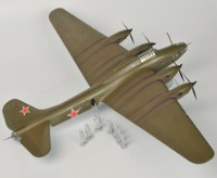 Сборная модель Звезда личный самолет Сталина «Пе-8» ОН (особого назначения) 1:72