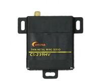 Сервопривод Corona CS239HV Analog High Voltage 4.6kg / 0.13sec / 22g (thin wing servo)