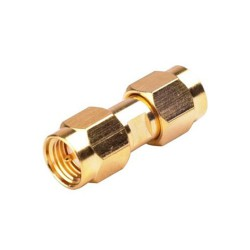 Разъем UHF SMA Male To SMA Male Barrel Adapter Connector SMA-JJ