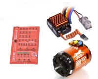 Комбо система SkyRC Cheetah Combo 60A Sensored 13.5T 2590KV 2-3S для 1/10 авто
