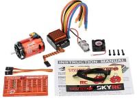 Комбо система SkyRC Cheetah Combo 60A Sensored 17.5T 1870KV 2-3S для 1/10 авто