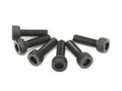 Team Magic 2.5x8mm Steel Cap Screw 6p