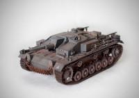 Сборная модель Звезда немецкое штурмовое орудие «Штурмгешутц III» (StuG III Ausf.F) 1:35