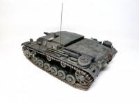 Сборная модель Звезда немецкое штурмовое орудие «Штурмгешутц III» (StuGIII AusfB)