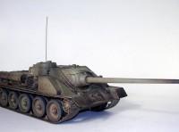 Сборная модель Звезда советский истребитель танков «СУ-100» 1:35