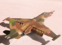 Сборная модель Звезда советский штурмовик «Су-25» 1:72