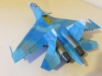 Сборная модель Звезда советский истребитель завоевания превосходства в воздухе «Су-27» 1:72
