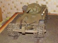 Сборная модель Звезда советский средний танк с минным тралом «Т-34/76» 1:35