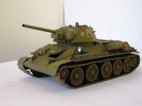 Сборная модель Звезда советский средний танк «Т-34/76» (1943 г.) 1:35
