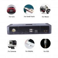 Портативное зарядное устройство Power Bank Tattu LiFePO4 12 B 12000 мAч 4S 270-400 А BMS LED