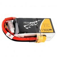Аккумулятор Tattu LiPO 14,8 В 1300 мАч 4S 75C Drone Racing