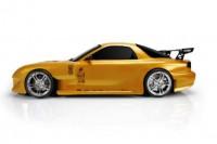 Шоссейный автомобиль Team Magic E4D Mazda RX-7 1:10 для дрифта золотой