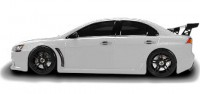Шоссейный автомобиль Team Magic E4JR Mitsubishi Evolution X 1:10 белый