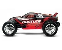 Трагги Traxxas Rustler Nitro Stadium Truck, TSM, 1:10 Red