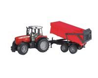 Трактор Bruder Massey Ferguson 7480 c прицепом 1:16