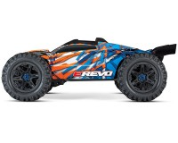 Монстр Traxxas E-Revo Brushless Monster 1:10 TSM 2,4 ГГц (86086-4 Orange)