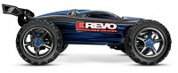 Монстр Traxxas E-Revo Brushless Monster 1:10 RTR 582 мм 4WD TSM 2,4 ГГц (56086-4 Blue)