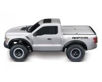 Автомобиль Traxxas Ford F-150 Raptor: 1:10 RTR 568 мм 2WD 2,4 ГГц (58094-1 SILVER)