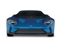 Автомобиль Traxxas Ford GT 4-Tec 2.0 1:10 RTR 448 мм 4WD 2,4 ГГц (83056-4 Blue)