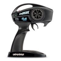 Монстр Traxxas LaTrax Teton 1:18 RTR 258 мм 4WD 2,4 ГГц (76054-5 Red)