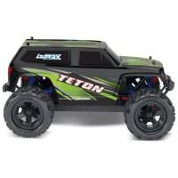 Монстр Traxxas LaTrax Teton 1:18 RTR 258 мм 4WD 2,4 ГГц (76054-5 Green)