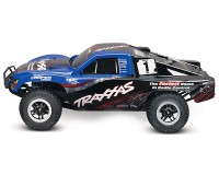 Автомобиль Traxxas Slash Brushless Short Course 1:10 RTR 568 мм 4WD 2,4 ГГц TSM (68086-4 Blue)