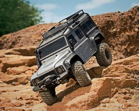 Автомобиль Traxxas TRX-4 Scale and Trail Crawler 1:10 RTR 586 мм 4WD 2,4 ГГц (82056-4 SILVER)