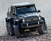 Автомобиль Traxxas TRX-6 Mercedes-Benz G 63 AMG 6x6 Black