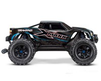 Монстр Traxxas X-Maxx Brushless Monster 8S 1:5 RTR 779 мм 4WD TSM 2,4 ГГц (77086-4 Blue)