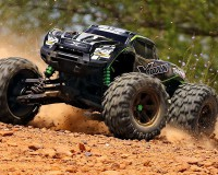 Монстр Traxxas X-Maxx Brushless Monster 8S 1:5 RTR 779 мм 4WD TSM 2,4 ГГц (77086-4 Green)
