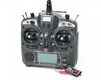 Пульт управления Turnigy 9X Transmitter и приемник iA8 Receiver (Mode 2) (AFHDS 2A system)