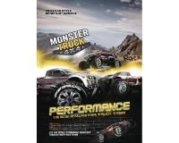 Колесо 1/8 Monster Louise MT-ROCK Sport (1/2 Offset) Black (2шт.)