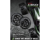 Колесо 1/5 Traxxas X-MAXX Louise X-PIONEER (MFT) Black (2шт.)