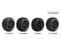 Колесо 1/5 Traxxas X-MAXX Louise X-UPHILL (MFT) Black (2шт.)