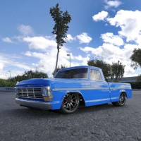 Автомобиль Vaterra V100-S Ford F-100 Pick Up 1968 1:10 4WD RTR