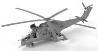 Сборная модель Звезда вертолет Ми-24 В/ВП «Крокодил» 1:72 (подарочный набор)