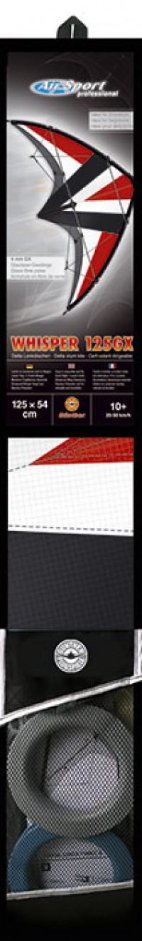 Трюковой воздушный змей WHISPER 125 GX