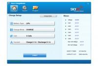 Зарядное устройство SkyRC T6755 7A/55W с/БП с сенсорным дисплеем