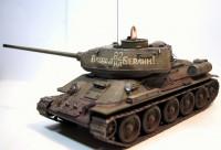Сборная модель Звезда советский танк Т-34/85 1:35 (подарочный набор)