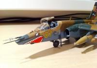 Сборная модель Звезда самолет Су-25 1:72 (подарочный набор)