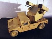 Сборная модель Звезда американский зенитный комплекс «Стингер» на базе автомобиля «Хаммер» 1:35