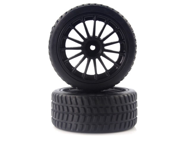 himoto Tires and Rims for On Road (28688+28689) 2P 28690